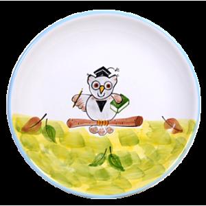 Bagoly   Reggelizős tányér