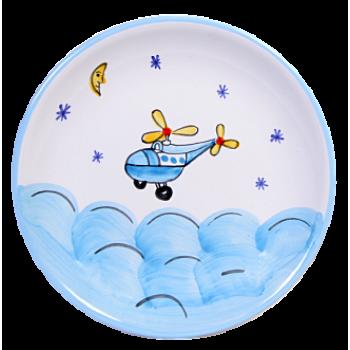 Helikopter   Reggelizős tányér