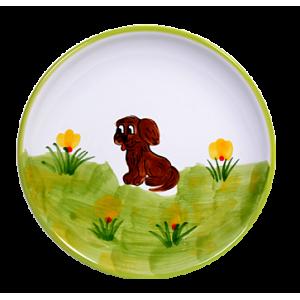 Kutya Reggelizős tányér