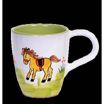 Ló Tejeskávés bögre