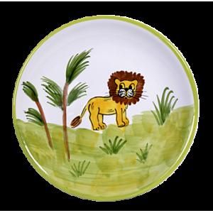 Oroszlán Reggelizős tányér