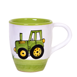 Traktor Tejeskávés bögre