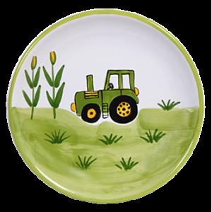 Traktor Reggelizős tányér
