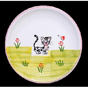 Cica Reggelizős tányér