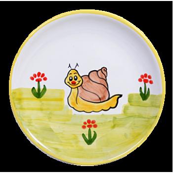 Csiga Reggelizős tányér