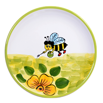 Méhecske Reggelizős tányér