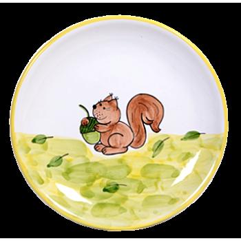 Mókus Reggelizős tányér