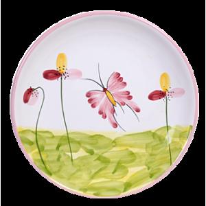 Pillangó Reggelizős tányér