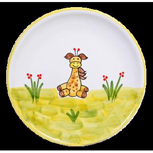 Zsiráf Reggelizős tányér