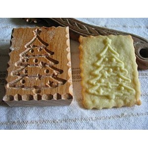 Keksznyomda - karácsonyfa